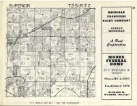 Superior T2S-R7E, Washtenaw County 1957